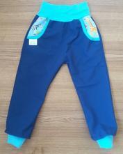 Letní softshellové kalhoty 92, 92