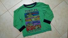 Zelené triko želvy ninja, bhs,104