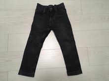 Černé šisované skinny džíny next, next,98
