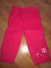 Manžestrové kalhoty vel. 12-18 měsíců, f&f,86