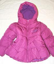 1/ růžový zimní kabátek next 98/104, next,98