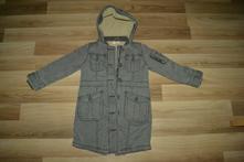Velmi teplý kabát vel 116, marks & spencer,116
