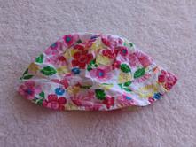 Květovaný klobouček ob.51cm/k3, babeskin,116