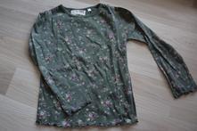 Khaki triko s kytičkami, c&a,110