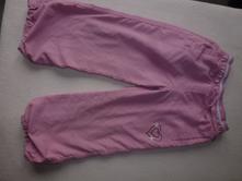 Šusťákové kalhoty podšité, 104