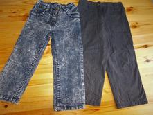 Rifle a zateplené kalhoty, lupilu,92