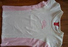 Růžové - bílé tričko, triko kenvelo, kenvelo,m