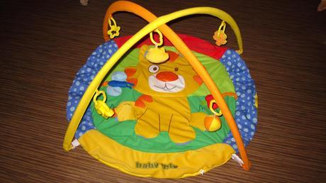 Hrací deka s hrazdou tygřík,