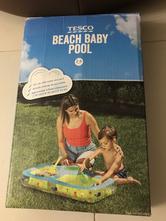 Nafukovací bazén s pískovištěm pro nejmenší,