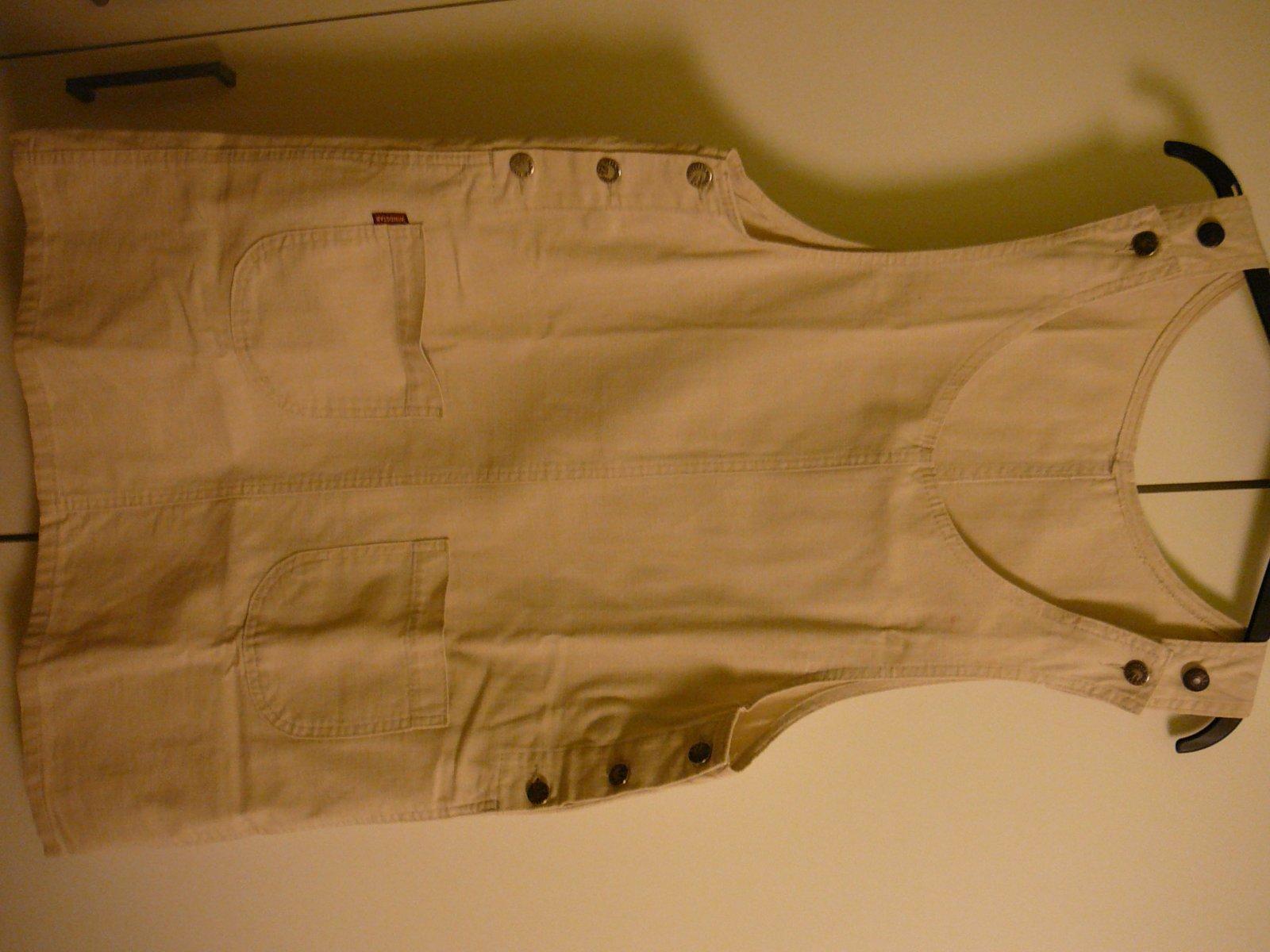 c824b743af86 Těhotenské laclové riflové šaty