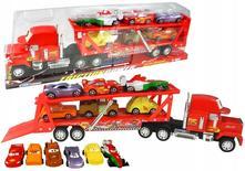 Cars auta kamion 49cm mack s autíčky,