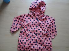 Šusťákový kabátek podšitý bavlnou, 98
