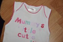 Spodní košilka ergge - mummys litle cutie, 86-92, ergee,86
