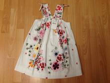 Letní šaty zn. zara, vel. 122 (7 let)., zara,122