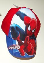Kšiltovka spiderman, 98 - 128