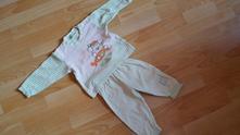 Pyžamo s medvídkem-námořníkem, frog,80