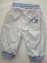 Bavlnou podšité,zateplené kalhoty na kluka, topolino,68