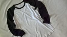 Vel. 158 černobílé pyžamové triko, h&m,158