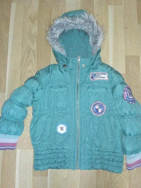 Zimní bunda s nášivky, next,116