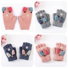 Dětské prstové rukavice a palčáky v jednom 3-12let,