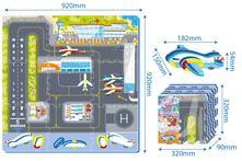 Dětské pěnové puzzle - letiště,