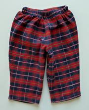 Flanelové kalhoty vel. 62, marks & spencer,62