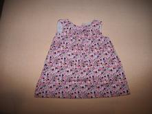 Manšestrové šaty, h&m,80