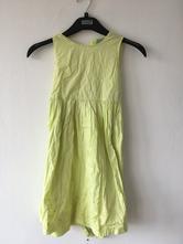 Krásné šaty žluté vel.  116, 116