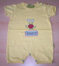 Žlutý letní overal  collection baby -kap kids, 80