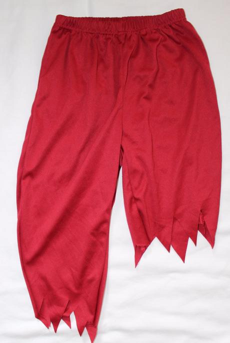 Be86. karnevalové kalhoty 3-4 let,