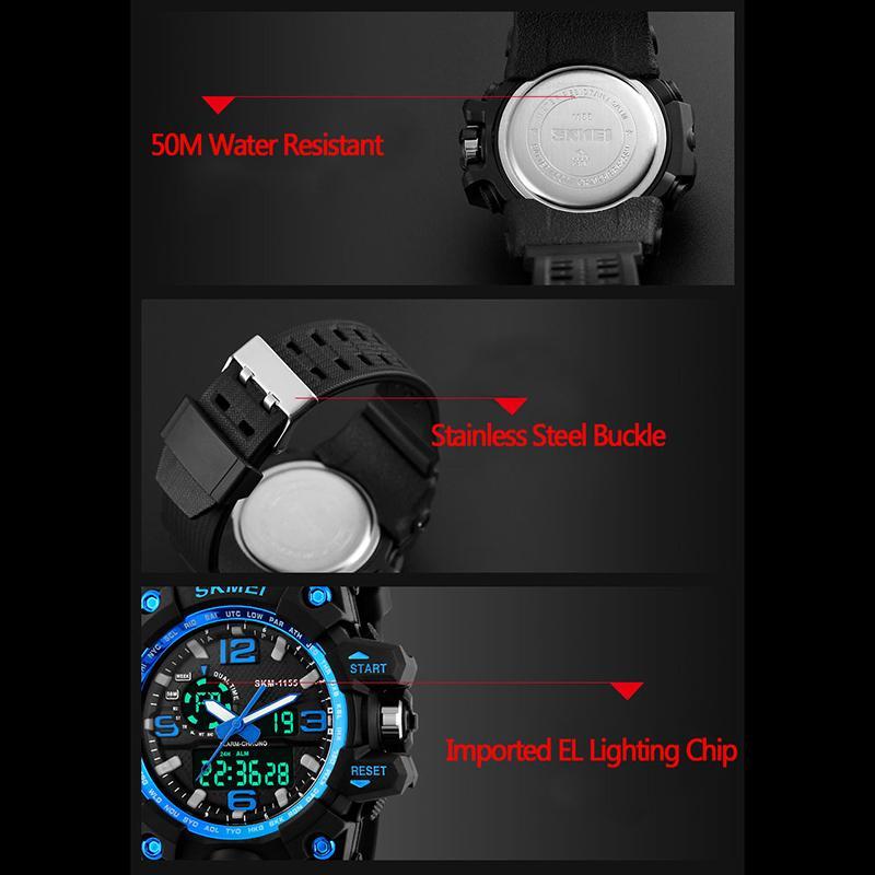093382cb186 431 inzerátů • 66 hodnocení. Sportovní značkové hodinky skmei - červené
