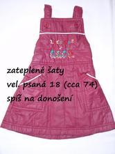 Zateplené šaty, 74