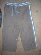 Plátěné sportovní kalhoty s bavlněnou podšívkou , next,86