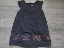 Riflové šaty, gap,80