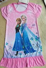 Letní šatičky-pyžamo ledové království - motiv 19, 104 - 152