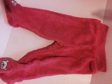 Zateplené chlupaté kalhoty, pepco,68
