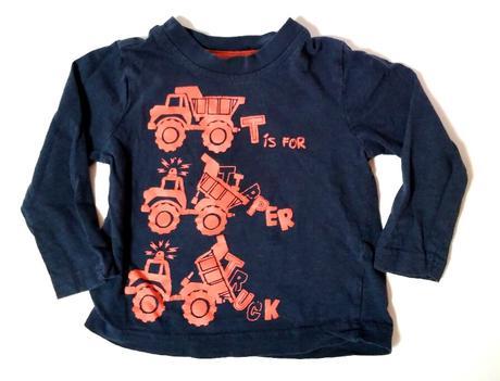 M260 - tmavě modré tričko s náklaďáky, george,74
