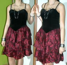 Společenské slavnostní korzetové šaty, bhs,40