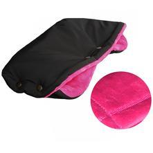 Emitex rukávník softshell velvet - černý/fuchsie, emitex
