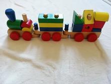 Dřevěný vlak,