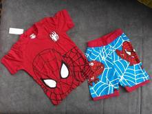 Dvoudílný komplet spiderman - tričko+kraťasy, 92 - 128