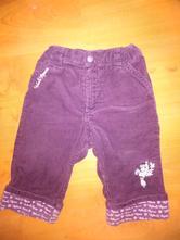 Zateplené kalhoty, h&m,86