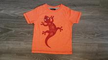 Neonové triko s ještěrkou, george,98