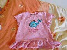 Růžová tunika pro holčičku, 74, dopodopo,74