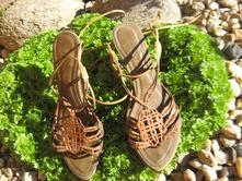 Kožené sandále-zn.baťa,vel.39, baťa,39