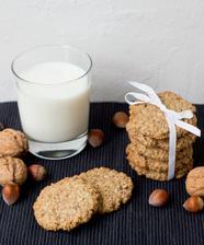 Domácí ovesné sušenky - luxusní!