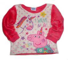 M&co kids peppa pig mikina chlupatka 98 /l72/, m&co,98