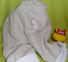 Podšité kalhoty.oteplené, zateplené vel. 62, 62