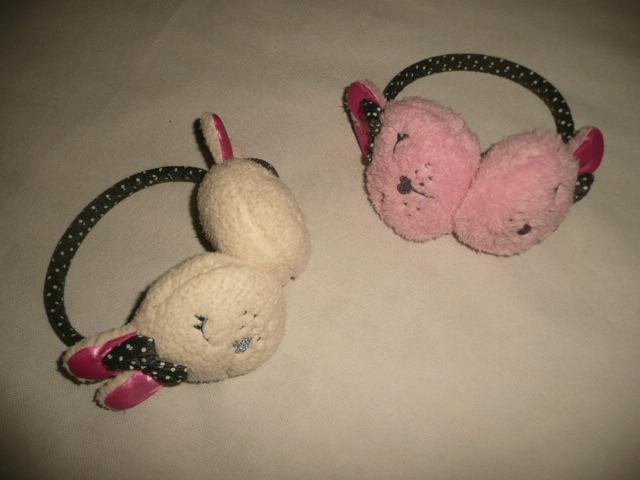 2x klapky na uši místo čepice zajíc f2b9339603