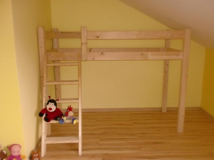 f5c7f08e6b26 Dětská postel - Modrý koník